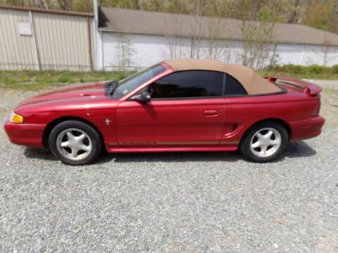 1998 Ford Mustang for sale at West End Auto Sales LLC in Richmond VA