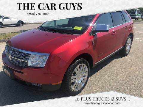 2008 Lincoln MKX for sale at The Car Guys in Hyannis MA