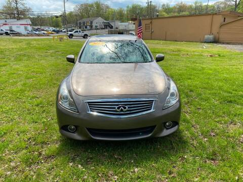 2012 Infiniti G37 Sedan for sale at Midtown Motors in Greenbrier TN