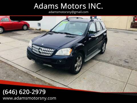 2008 Mercedes-Benz M-Class for sale at Adams Motors INC. in Inwood NY