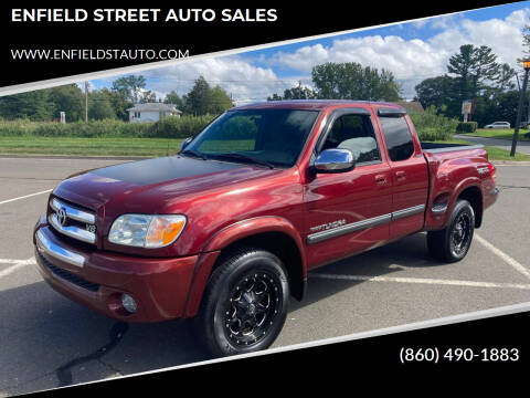 2006 Toyota Tundra for sale at ENFIELD STREET AUTO SALES in Enfield CT