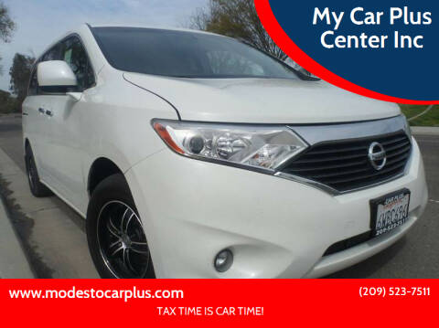 2012 Nissan Quest for sale at My Car Plus Center Inc in Modesto CA