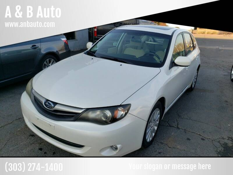 2011 Subaru Impreza for sale at A & B Auto in Lakewood CO