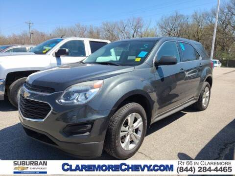 2017 Chevrolet Equinox for sale at Suburban Chevrolet in Claremore OK
