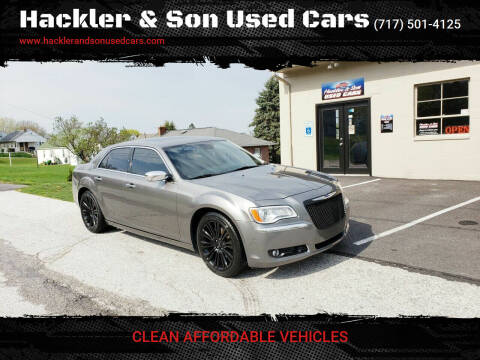 2012 Chrysler 300 for sale at Hackler & Son Used Cars in Red Lion PA