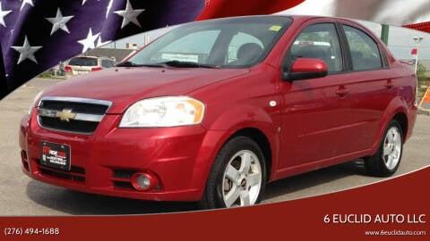 2007 Chevrolet Aveo for sale at 6 Euclid Auto LLC in Bristol VA