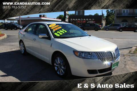 2012 Lincoln MKZ for sale at E & S Auto Sales in Crest Hill IL