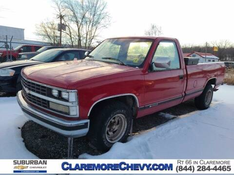 1989 Chevrolet C/K 1500 Series for sale at Suburban Chevrolet in Claremore OK