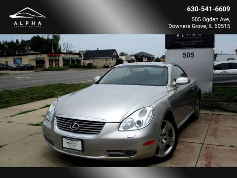 2005 Lexus SC 430 for sale at Alpha Luxury Motors in Downers Grove IL