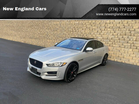 2017 Jaguar XE for sale at New England Cars in Attleboro MA