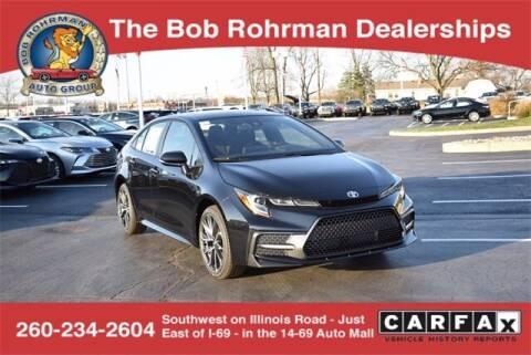 2021 Toyota Corolla for sale at BOB ROHRMAN FORT WAYNE TOYOTA in Fort Wayne IN