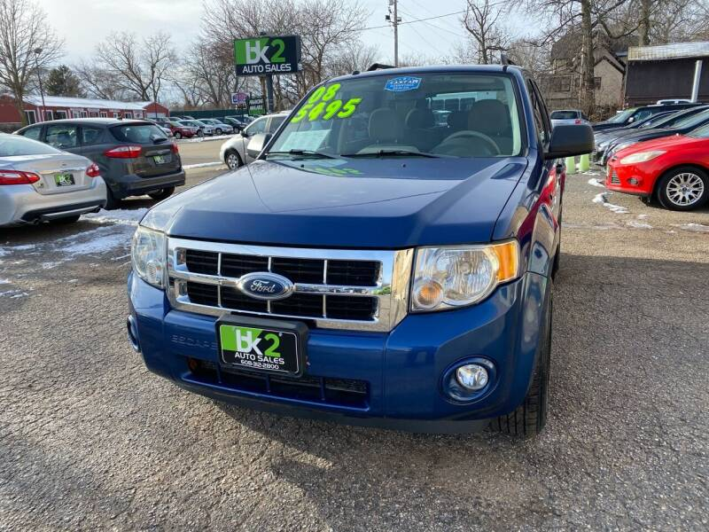 2008 Ford Escape for sale at BK2 Auto Sales in Beloit WI