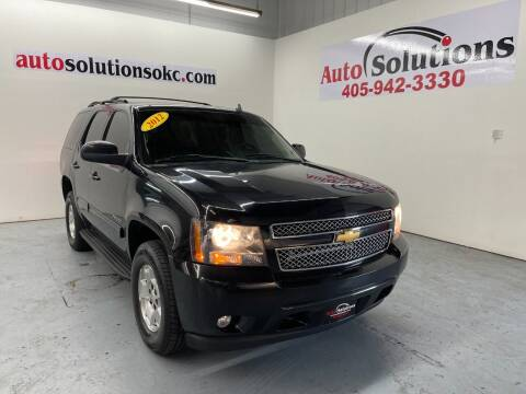 2012 Chevrolet Tahoe for sale at Auto Solutions in Warr Acres OK