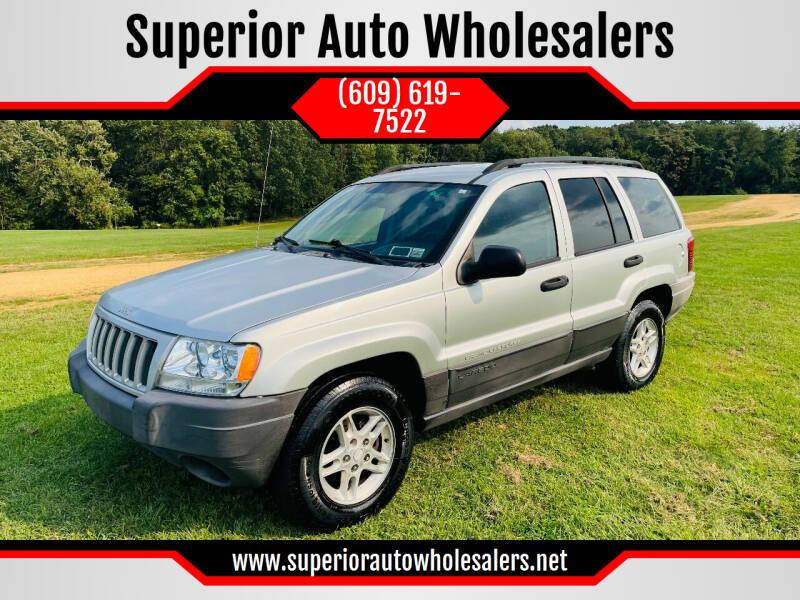 2004 Jeep Grand Cherokee for sale at Superior Auto Wholesalers in Burlington NJ