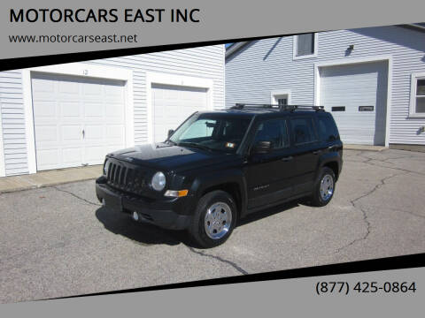 2011 Jeep Patriot for sale at MOTORCARS EAST INC in Derry NH