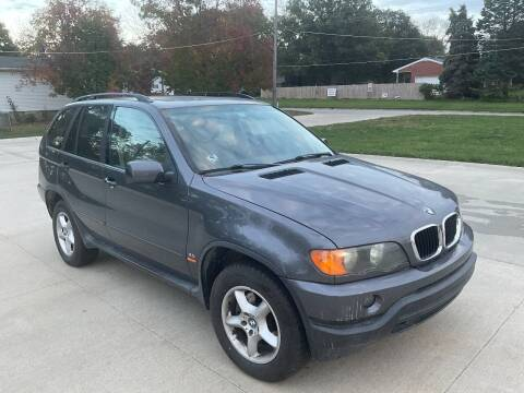 2003 BMW X5 for sale at Bam Motors in Dallas Center IA