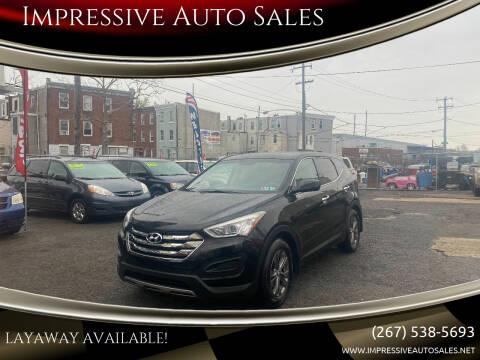 2013 Hyundai Santa Fe Sport for sale at Impressive Auto Sales in Philadelphia PA