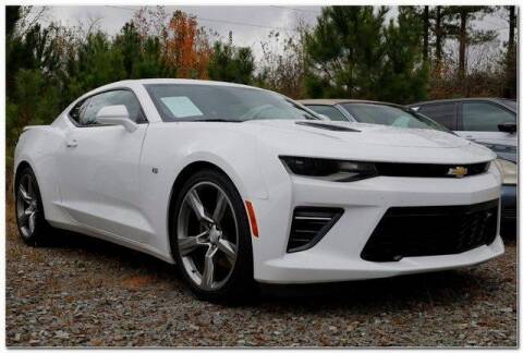 2018 Chevrolet Camaro for sale at WHITE MOTORS INC in Roanoke Rapids NC