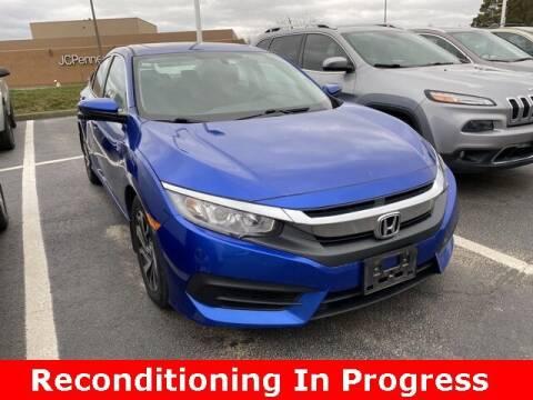 2016 Honda Civic for sale at Jeff Drennen GM Superstore in Zanesville OH