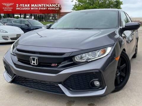 2018 Honda Civic for sale at European Motors Inc in Plano TX