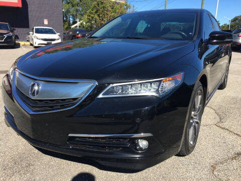 2015 Acura TLX for sale at Capital City Imports in Tallahassee FL