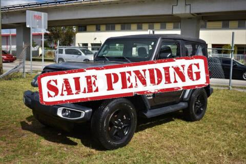 2018 Jeep Wrangler for sale at ELITE MOTOR CARS OF MIAMI in Miami FL