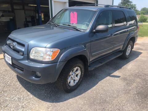 2005 Toyota Sequoia for sale at Purpose Driven Motors in Sidney OH