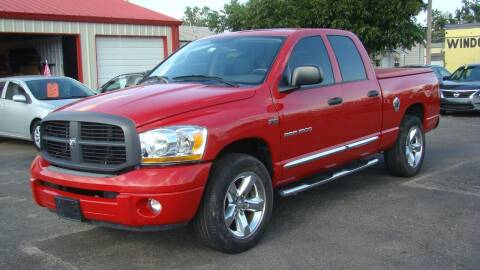 2006 Dodge Ram Pickup 1500 for sale at Red Rock Auto LLC in Oklahoma City OK