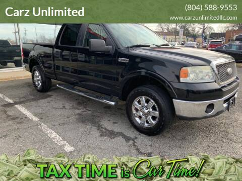 2008 Ford F-150 for sale at Carz Unlimited in Richmond VA
