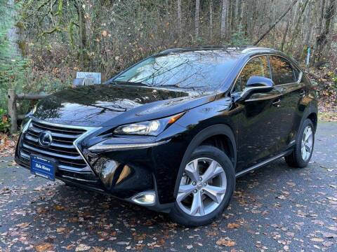 2017 Lexus NX 300h for sale at Halo Motors in Bellevue WA