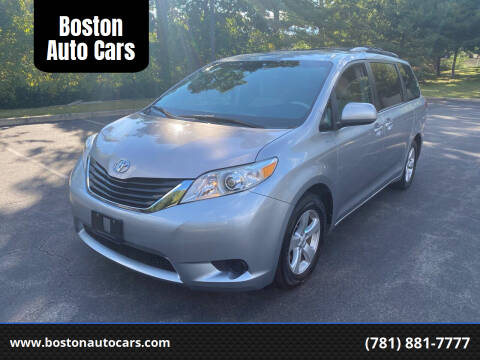 2011 Toyota Sienna for sale at Boston Auto Cars in Dedham MA