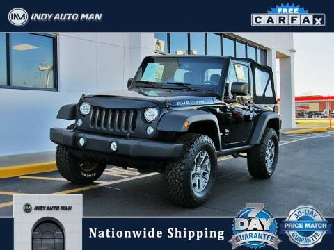 2017 Jeep Wrangler for sale at INDY AUTO MAN in Indianapolis IN