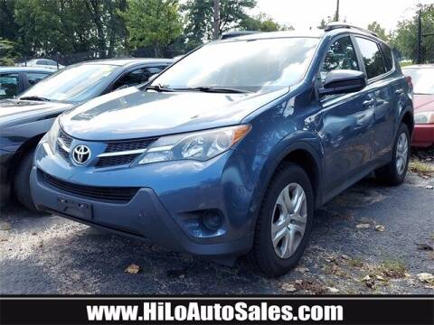 2013 Toyota RAV4 for sale at Hi-Lo Auto Sales in Frederick MD