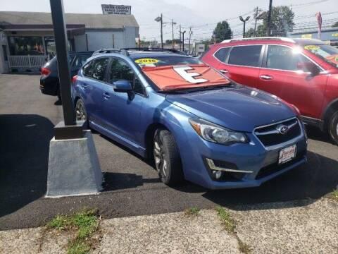2016 Subaru Impreza for sale at Payless Car Sales of Linden in Linden NJ
