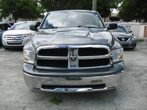 2012 RAM Ram Pickup 1500 for sale at SUPERAUTO AUTO SALES INC in Hialeah FL