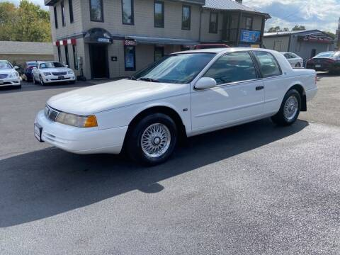 1995 Mercury Cougar for sale at Sisson Pre-Owned in Uniontown PA