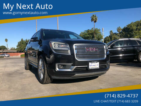 2013 GMC Acadia for sale at My Next Auto in Anaheim CA