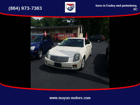 2006 Cadillac CTS for sale at Mayan Motors Easley in Easley SC