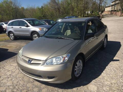 2005 Honda Civic for sale at Best Buy Auto Sales in Murphysboro IL