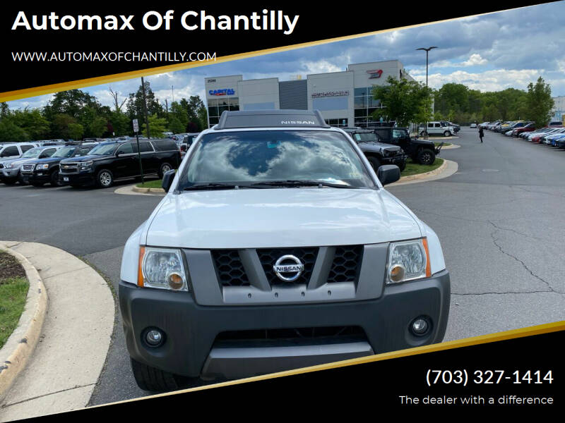 2007 Nissan Xterra for sale at Automax of Chantilly in Chantilly VA