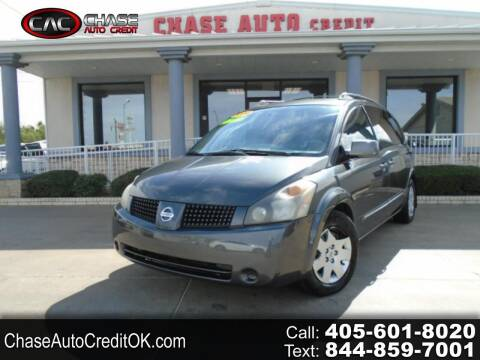 2006 Nissan Quest for sale at Chase Auto Credit in Oklahoma City OK