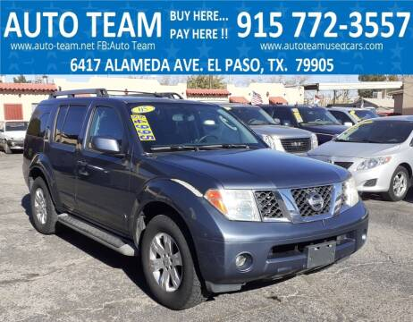 2005 Nissan Pathfinder for sale at AUTO TEAM in El Paso TX