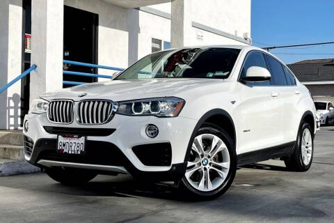 2016 BMW X4 for sale at Fastrack Auto Inc in Rosemead CA