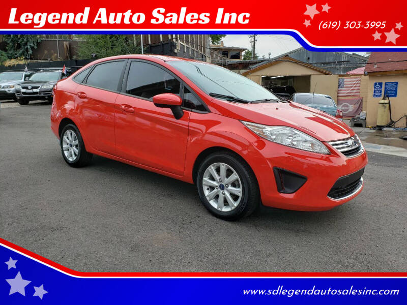 2012 Ford Fiesta for sale at Legend Auto Sales Inc in Lemon Grove CA