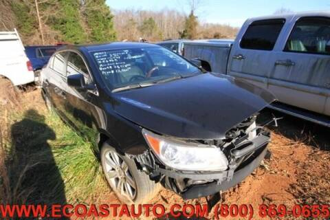 2011 Buick LaCrosse for sale at East Coast Auto Source Inc. in Bedford VA