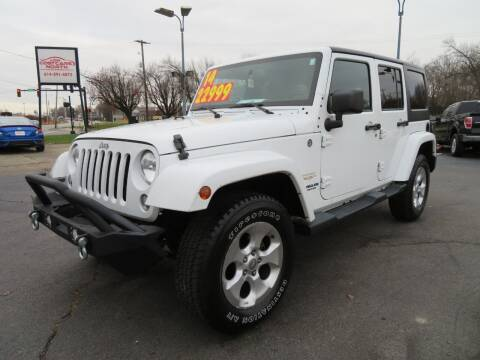 2014 Jeep Wrangler Unlimited for sale at Low Cost Cars North in Whitehall OH