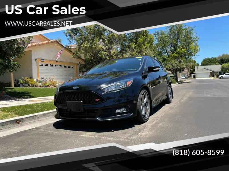 2017 Ford Focus for sale at U.S Car Sales in Van Nuys CA