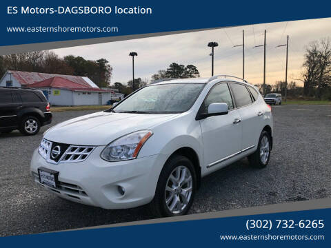 2011 Nissan Rogue for sale at ES Motors-DAGSBORO location in Dagsboro DE