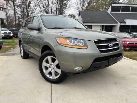 2009 Hyundai Santa Fe for sale at Alpha Car Land LLC in Snellville GA
