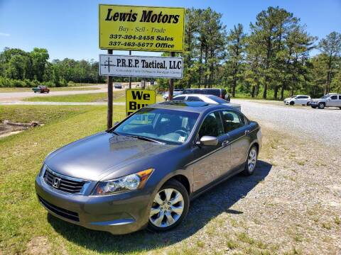 2009 Honda Accord for sale at Lewis Motors LLC in Deridder LA